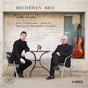 Beethoven & Ries: Cello Works, Juris Teichmanis, Hansjacob Staemmler